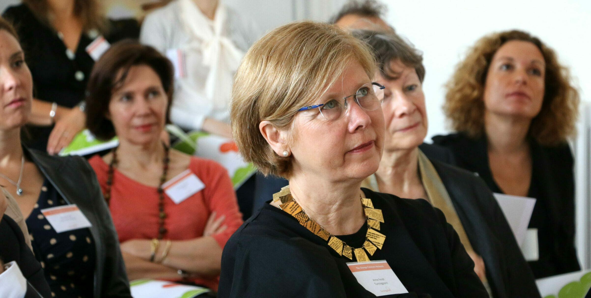 Arrival of Anne Fendt, Turningpoint Director