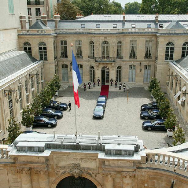 Rencontre avec le Premier Ministre à Matignon