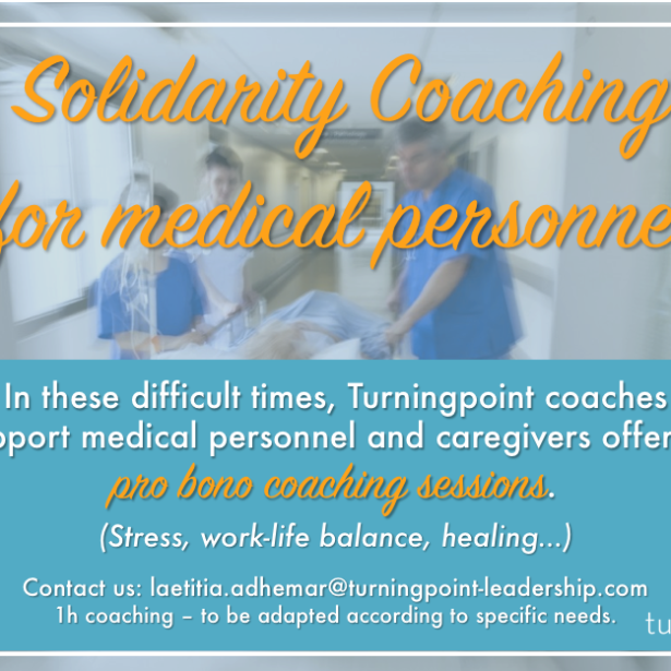 Solidarity coaching for medical personnel