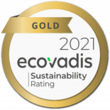 Ecovadis Gold 2021 Turningpoint